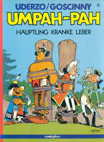 Cover for Umpah-Pah (comicplus+, 1987 series) #5 - Häuptling Kranke Leber