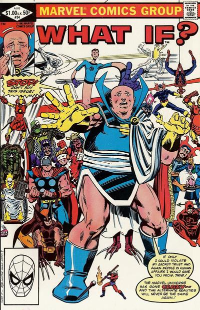 Cover for What If? (Marvel, 1977 series) #34 [Direct]