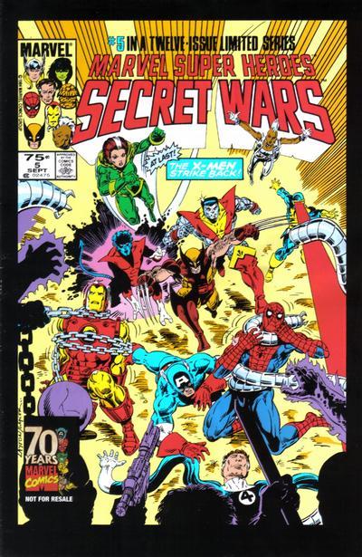Cover for Hasbro / Secret Wars (Marvel, 2009 series) #5