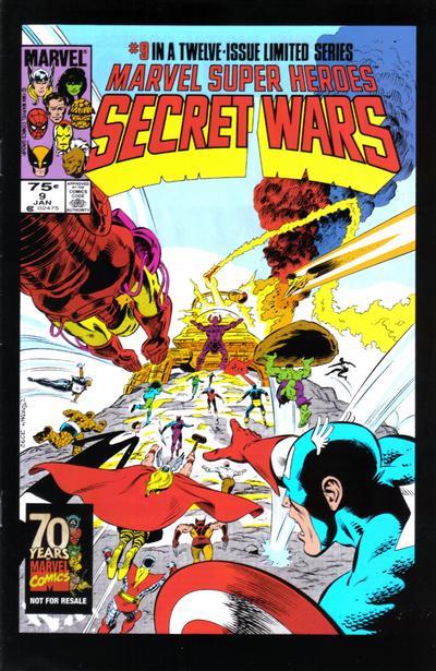 Cover for Hasbro / Secret Wars (Marvel, 2009 series) #9
