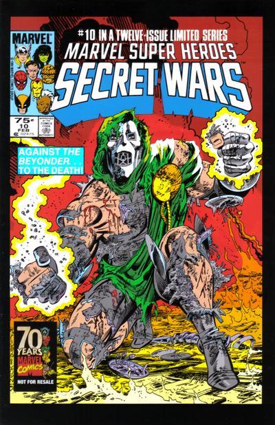 Cover for Hasbro / Secret Wars (Marvel, 2009 series) #10