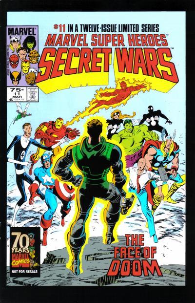 Cover for Hasbro / Secret Wars (Marvel, 2009 series) #11