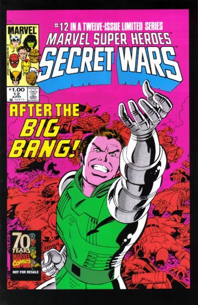 Cover for Hasbro / Secret Wars (Marvel, 2009 series) #12