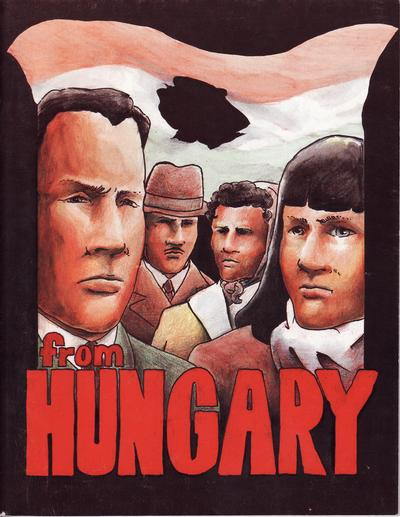 Cover for From Hungary (Tom Galambos, 1996 series)