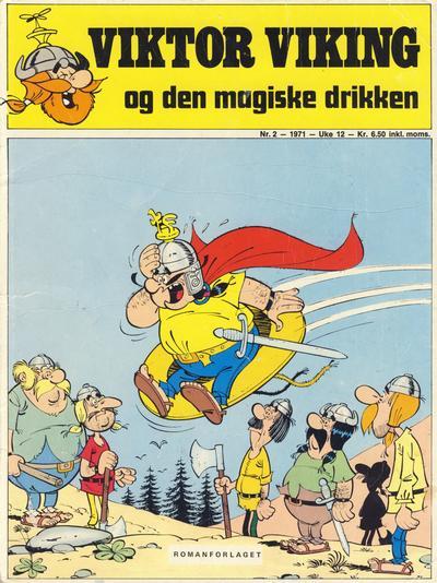 Cover for Trumf-serien (Romanforlaget, 1971 series) #2 - Viktor Viking