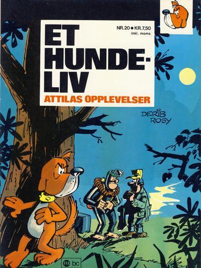 Cover for Trumf-serien (Forlaget For Alle A/S, 1973 series) #20 - Attilas opplevelser