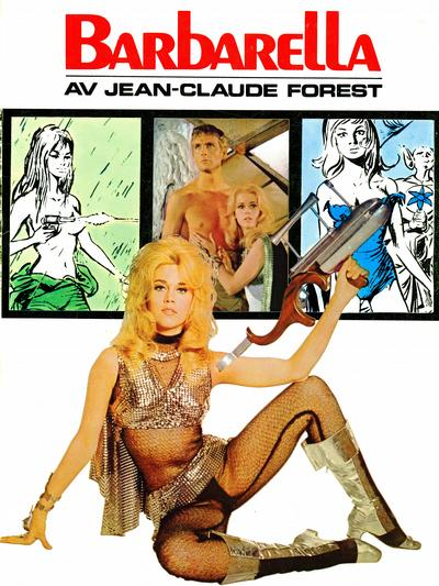 Cover for Barbarella (Semic, 1969 series)