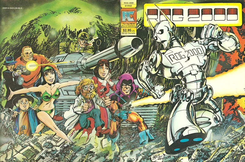 Cover for The Complete Rog 2000 (Pacific Comics, 1982 series)