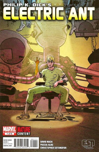 Cover for Electric Ant (Marvel, 2010 series) #1