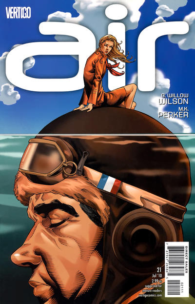 Cover for Air (DC, 2008 series) #21