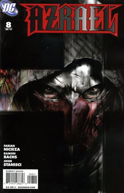 Cover for Azrael (DC, 2009 series) #8