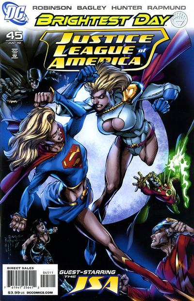 Cover for Justice League of America (DC, 2006 series) #45 [Standard Cover]