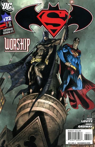 Cover for Superman / Batman (DC, 2003 series) #72