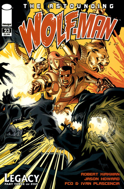Cover for The Astounding Wolf-Man (Image, 2007 series) #23