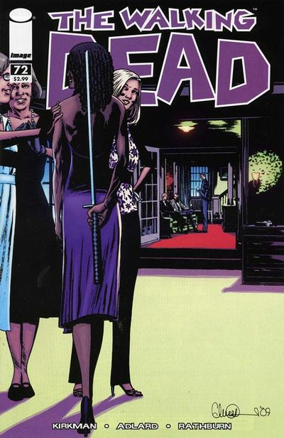 Cover for The Walking Dead (Image, 2003 series) #72