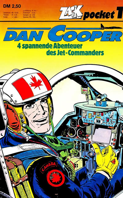 Cover for Zack Pocket (Koralle, 1980 series) #1 - Dan Cooper
