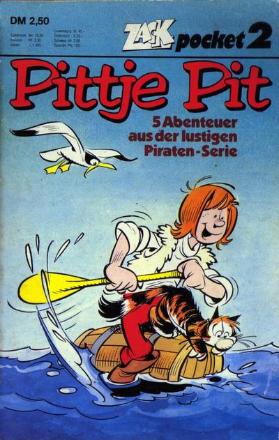 Cover for Zack Pocket (Koralle, 1980 series) #2 - Pittje Pit