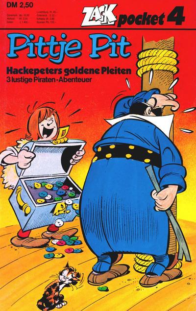 Cover for Zack Pocket (Koralle, 1980 series) #4 - Pittje Pit - Hackepeters goldene Pleiten