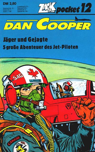 Cover for Zack Pocket (Koralle, 1980 series) #12 - Dan Cooper - Jäger und Gejagte