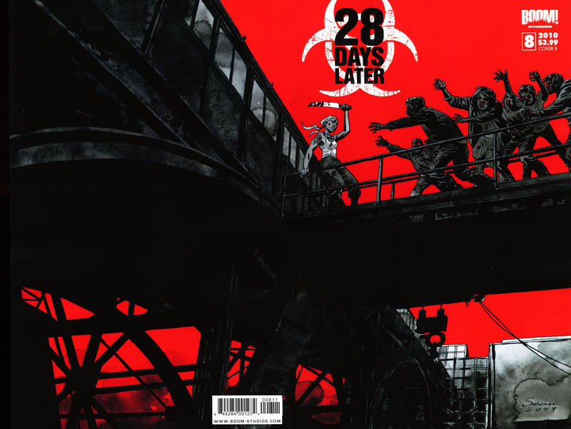 Cover for 28 Days Later (Boom! Studios, 2009 series) #8 [Cover C]