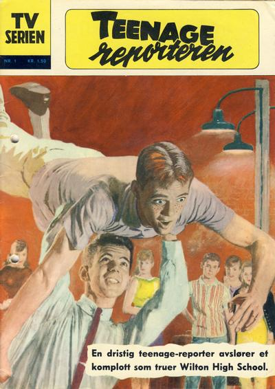 Cover for TV serien (Illustrerte Klassikere / Williams Forlag, 1962 series) #1