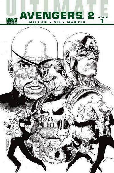Cover for Ultimate Avengers (Marvel, 2009 series) #7