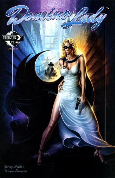 Cover for Domino Lady (Moonstone, 2009 series) #1 [Cover A]
