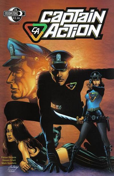 Cover for Captain Action Comics (Moonstone, 2008 series) #5