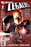 Cover for DCU: Legacies (DC, 2010 series) #1 [Alternate cover]