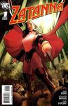Cover for Zatanna (DC, 2010 series) #1