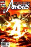 Cover for Avengers (Marvel, 1998 series) #1 [Sunburst Direct Edition]