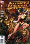 Cover for Justice League of America (DC, 2006 series) #7 [Michael Turner Cover]