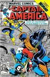 Cover for Captain America (Marvel, 1968 series) #282 [Second Printing]