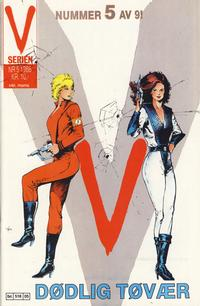 Cover Thumbnail for V-serien (Semic, 1986 series) #5/1986