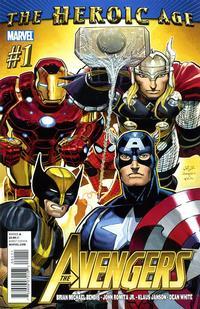 Cover Thumbnail for Avengers (Marvel, 2010 series) #1 [Standard Cover]