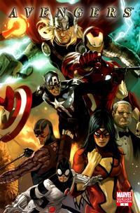 Cover Thumbnail for Avengers (Marvel, 2010 series) #1 [Marko  Djurdjevic Variant Cover]