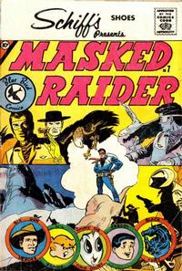 Cover Thumbnail for Masked Raider (Charlton, 1959 series) #7 [Schiff's Shoes]
