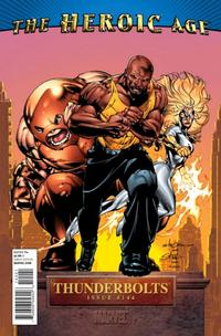 Cover Thumbnail for Thunderbolts (Marvel, 2006 series) #144 [Heroic Age Variant Cover]