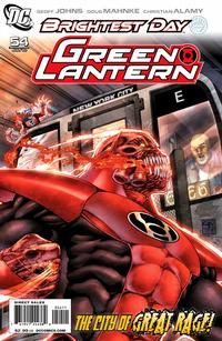Cover Thumbnail for Green Lantern (DC, 2005 series) #54 [Standard Cover]