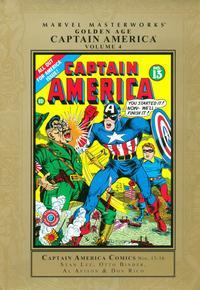 Cover Thumbnail for Marvel Masterworks: Golden Age Captain America (Marvel, 2005 series) #4 [Regular Edition]