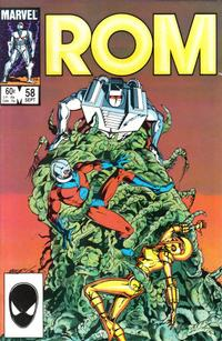 Cover Thumbnail for ROM (Marvel, 1979 series) #58 [Direct Edition]