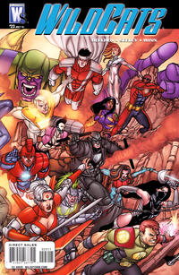 Cover for Wildcats (DC, 2008 series) #23