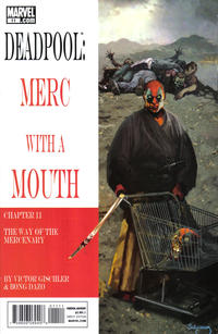 Cover Thumbnail for Deadpool: Merc with a Mouth (Marvel, 2009 series) #11