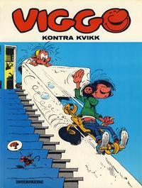 Cover Thumbnail for Viggo (Interpresse, 1979 series) #7 - Viggo kontra Kvikk