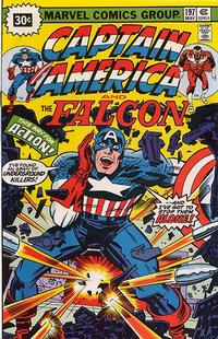 Cover Thumbnail for Captain America (Marvel, 1968 series) #197 [30¢ Price Variant]