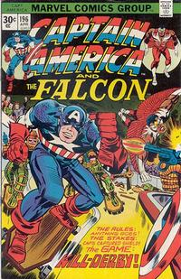 Cover Thumbnail for Captain America (Marvel, 1968 series) #196 [30¢ Price Variant]