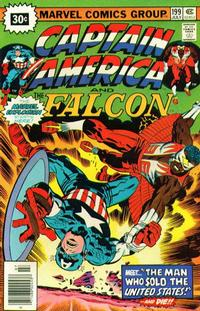 Cover Thumbnail for Captain America (Marvel, 1968 series) #199 [30¢ Price Variant]