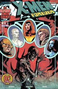 Cover Thumbnail for X-Men Forever (Marvel, 2001 series) #1 [Dynamic Forces Variant Cover]