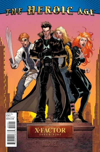 Cover for X-Factor (Marvel, 2006 series) #205 [2nd Printing Variant Cover]