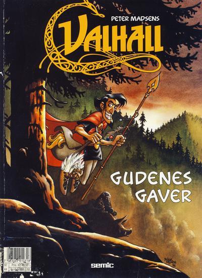 Cover for Valhall (Semic, 1987 series) #10 - Gudenes gaver